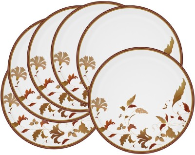 Mehul 13 Inch D-922 Liril Dish 6 Pcs Printed Melamine Plate Set