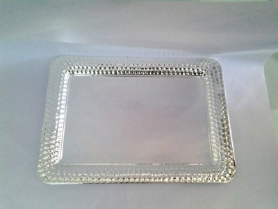 Eventz Gifts Royal square hammer Solid Silver Plated Tray
