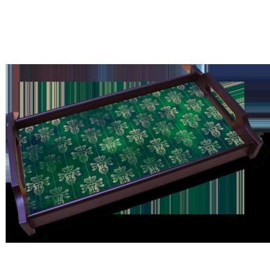 Kolorobia Pine Green Solid Wood Tray