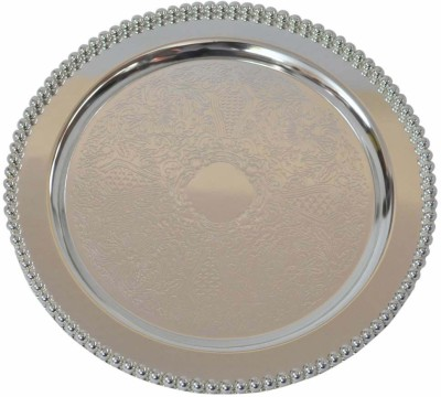 Sambhav Products Tray Solid Silver Plated Plate