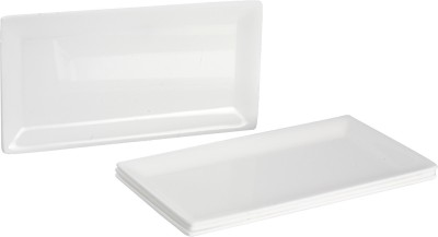 Saflona Simple and Elegant Solid Plastic Tray Set