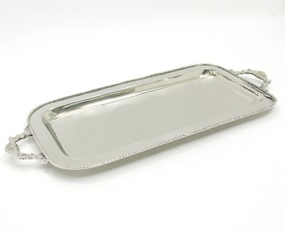 Indian Reverie Serving Solid Stainless Steel Tray