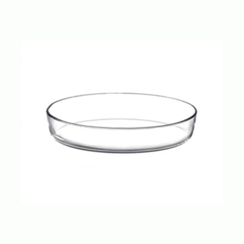 Pasabahce Borcam Oval 2ltr Medium -59064 Solid Glass Tray Borcam Oval 2ltr Medium -59064
