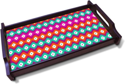 Kolorobia Colorful Solid Wood Tray