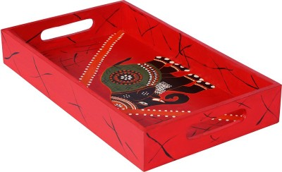 Rang Rage Regal Celebration Classy Solid Wood Tray