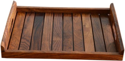 Stylemyway Handcrafted Solid Wood Tray