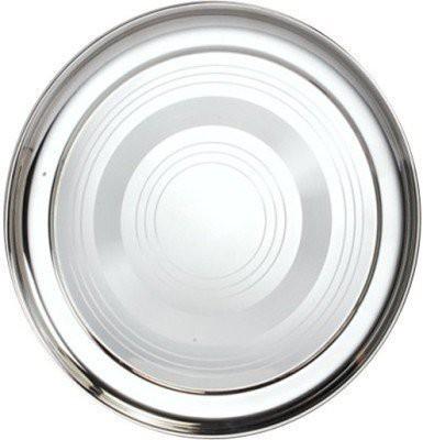 Arabs Engraved Stainless Steel Plate Set