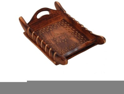 Onlineshoppee AFR1337 Solid Wood Tray
