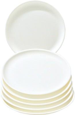 ASP Polyplast Kitchenpride Solid Plastic Plate Set