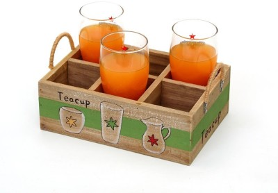 TEZERAC Solid Wood Tray