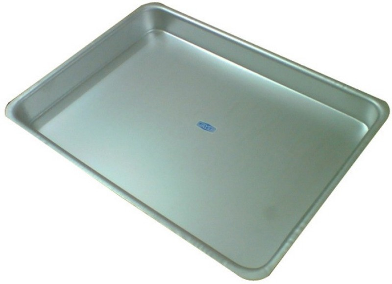 Jayco Embossed Aluminium Tray(Silver, Pack of 1)