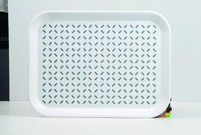 Freelance Anti-Slip Embossed Plastic Tray