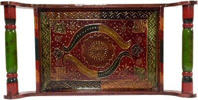 Selective Crafts Solid Wood Tray