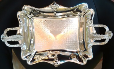 USP Collection Solid Silver Plated Tray