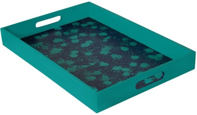 Rang Rage Color Droplets Grand Solid Wood Tray