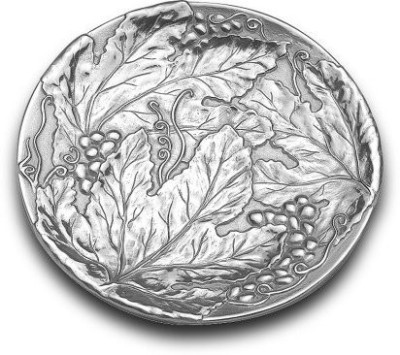 Wilton Grapes Round Tray Tray(Pack of 1) at flipkart