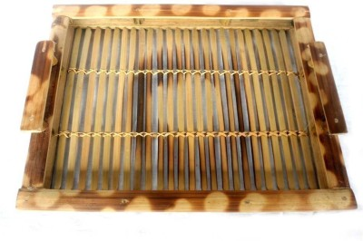 Creative Thought Solid Bamboo Tray