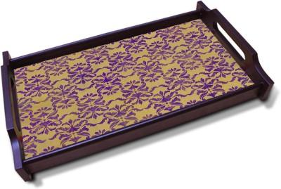 Kolorobia Yello Ochee Solid Wood Tray