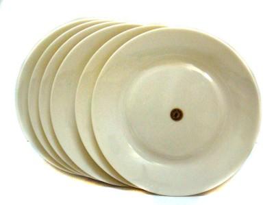 Wood & kemp Smart Dinning Korelle White Solid Melamine Plate Set