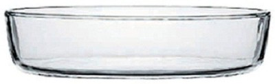 Pasabahce Borcam Oval Small 7.25 Solid Glass Tray