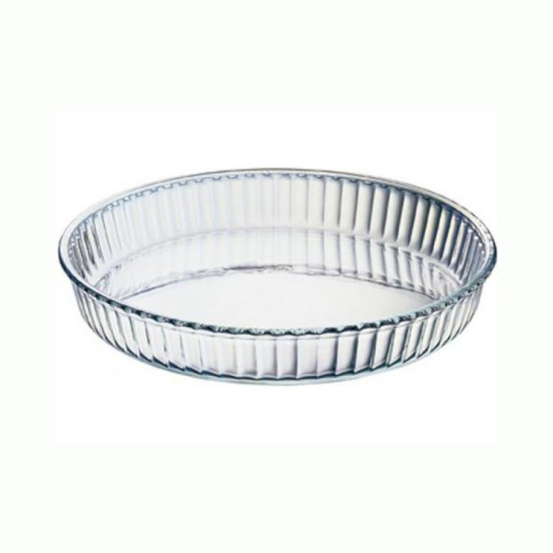 Pasabahce Borcam Round Large - 59014 Solid Glass Tray Borcam Round Large - 59014