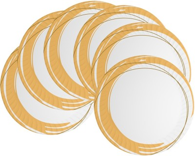 Mehul 7 inch D-205 Magnetic 6 Pcs Printed Melamine Plate Set