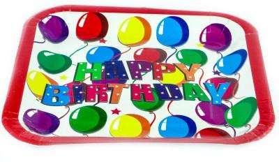 Ziggle Birthday Printed Paper Plate Set