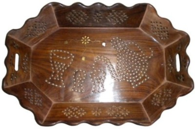 Onlineshoppee AFR649 Solid Wood Tray