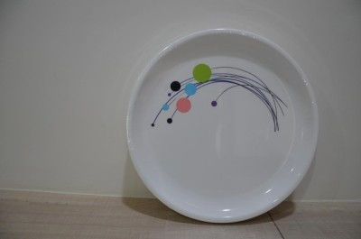 Signoraware Designer Printed Plastic Plate