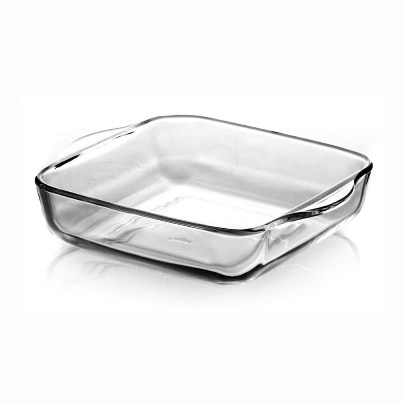 Pasabahce Borcam Square 59024 Solid Glass Tray Borcam Square 59024