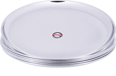Embassy (9.2 - Size 10) Dinner Solid Stainless Steel Plate