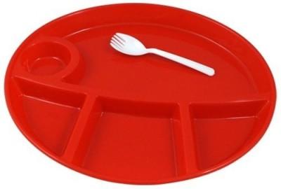 Manbhari Solid Plastic Plate at flipkart