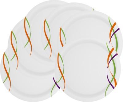 Mehul 13 Inch D-951 Sonata Dish Pratap 6 Pcs Printed Melamine Plate Set