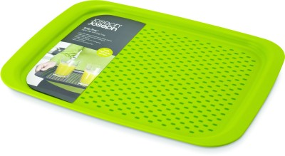 JosephJoseph Grip Small Solid Plastic Tray(Green, Pack of 1)