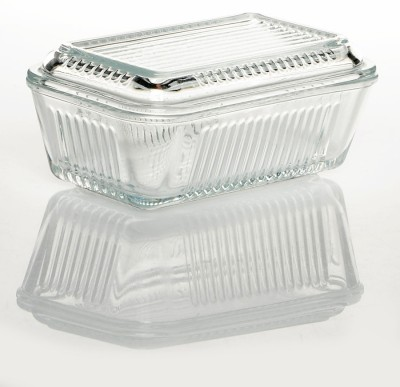 Pasabahce Butter Dish Solid Glass Plate ...