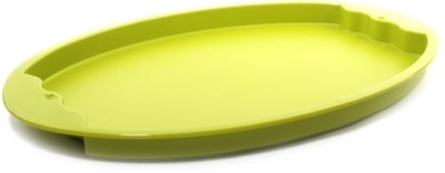 Tupperware Expression Plastic Tray(Green, Pack of 1)