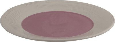 around the world Solid Ceramic Plate(White, Pack of 12)
