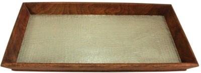 Raja Arts Embellished Wood Tray