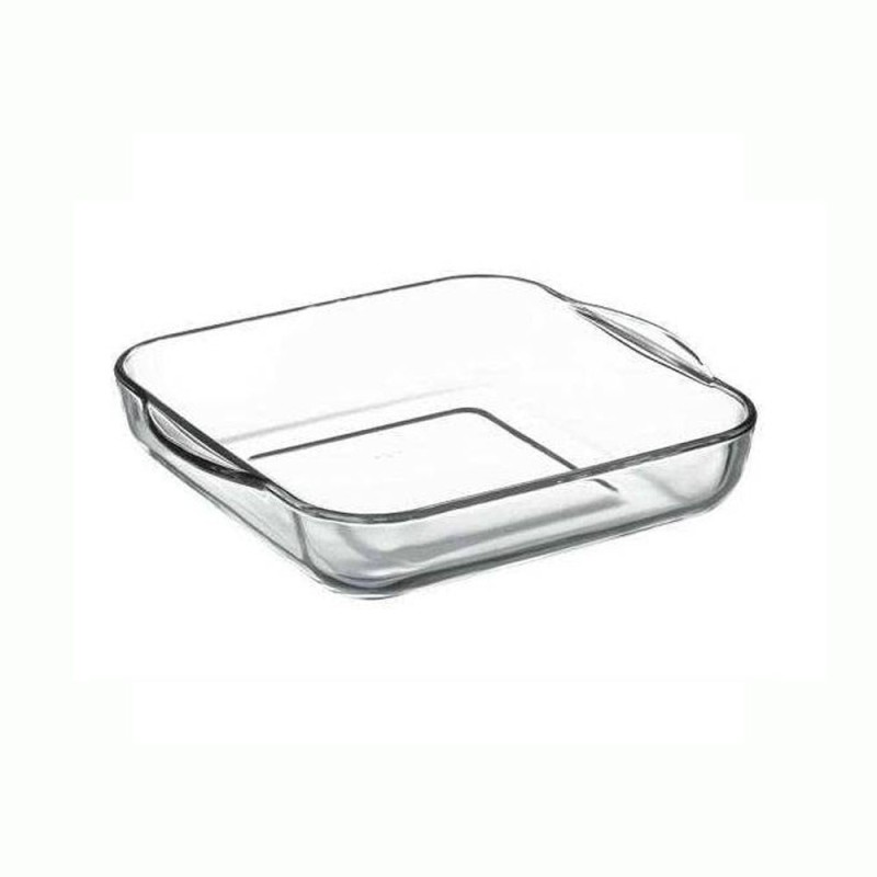 Pasabahce Borcam Square 59034 Solid Glass Tray Borcam Square 59034