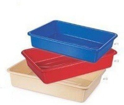Nakoda Serving Combo of 3 Solid Plastic Tray