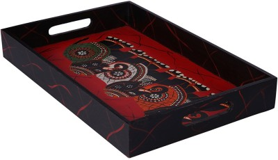 Rang Rage Regal Celebration Exotic Solid Wood Tray