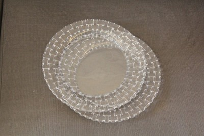 Nachtmann Solid Crystal, Glass Plate Set