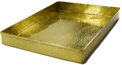 Reverence Engraved Gold Plated Tray