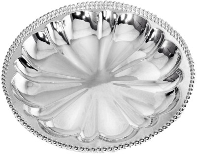 The Divine Luxury Solid Silver Plated Plate