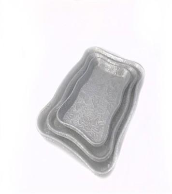 Pratha Pratha Tray Set Printed Plastic Tray Set
