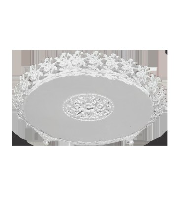 The Divine Luxury Solid Silver Plated Tray