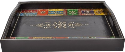 Lal Haveli Beautiful Decorative Printed Wood Tray