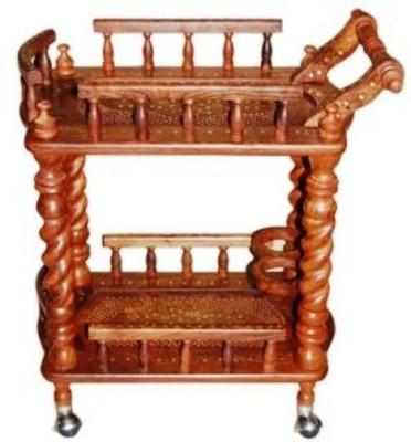 Onlineshoppee CA8B Solid Wood Tray Set