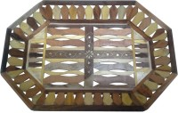 Impression Arts Sheesham & Teak Handmade Serving Tray(Pack of 1)