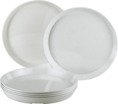 Foodie's Tableware DP001 Solid Plastic Plate
